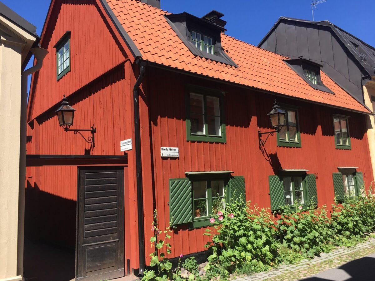 Breda gatan, Djurgårdstaden