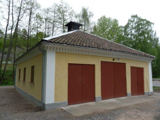 Gamla brandstationen, Tumba bruksmuseeum