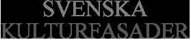 Svenska Kulturfasader Logotyp