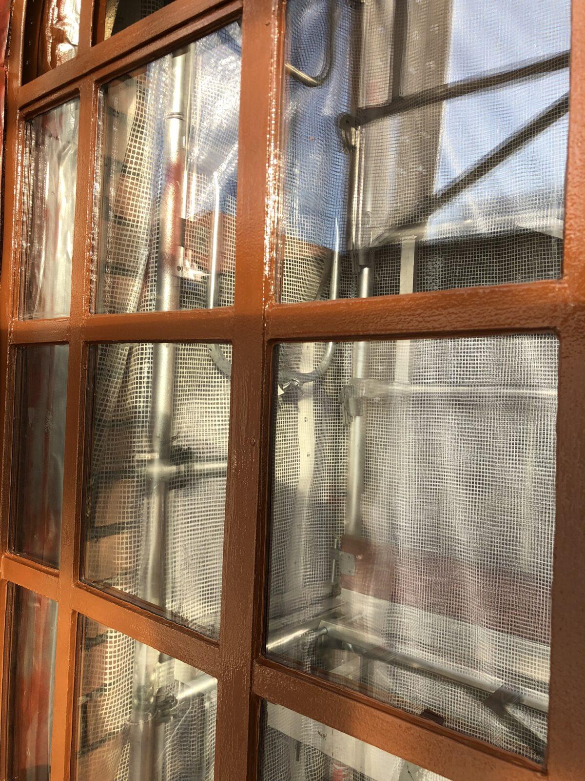 Industrifönster med energiglaskassetter