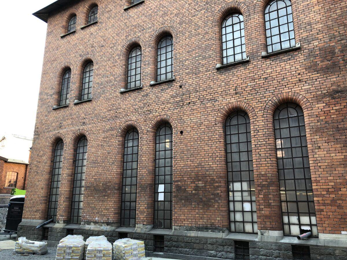 industrifönster innan renovering