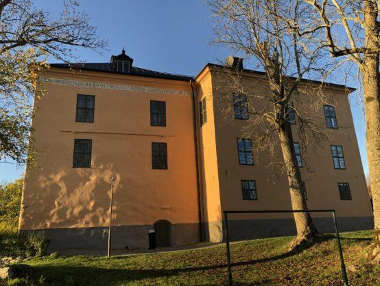 Wenngarns Slott efter fasadrenovering sydost fasad